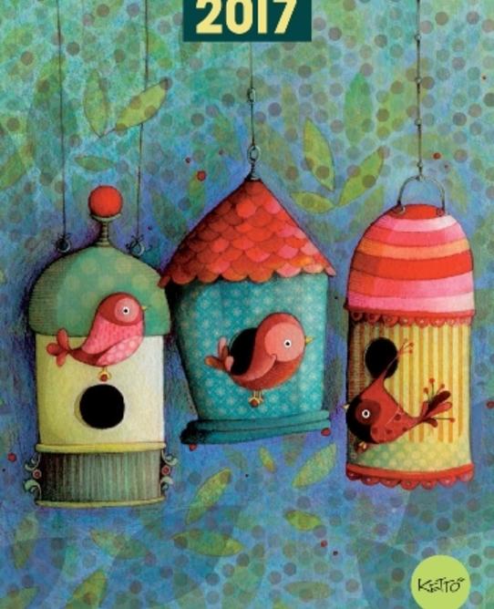 Ketto agenda hebdo maison d'oiseaux couv